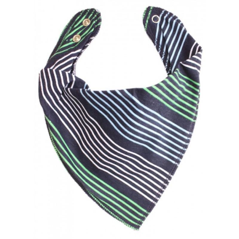 DryBib Bandana Bib - Smart Stripes