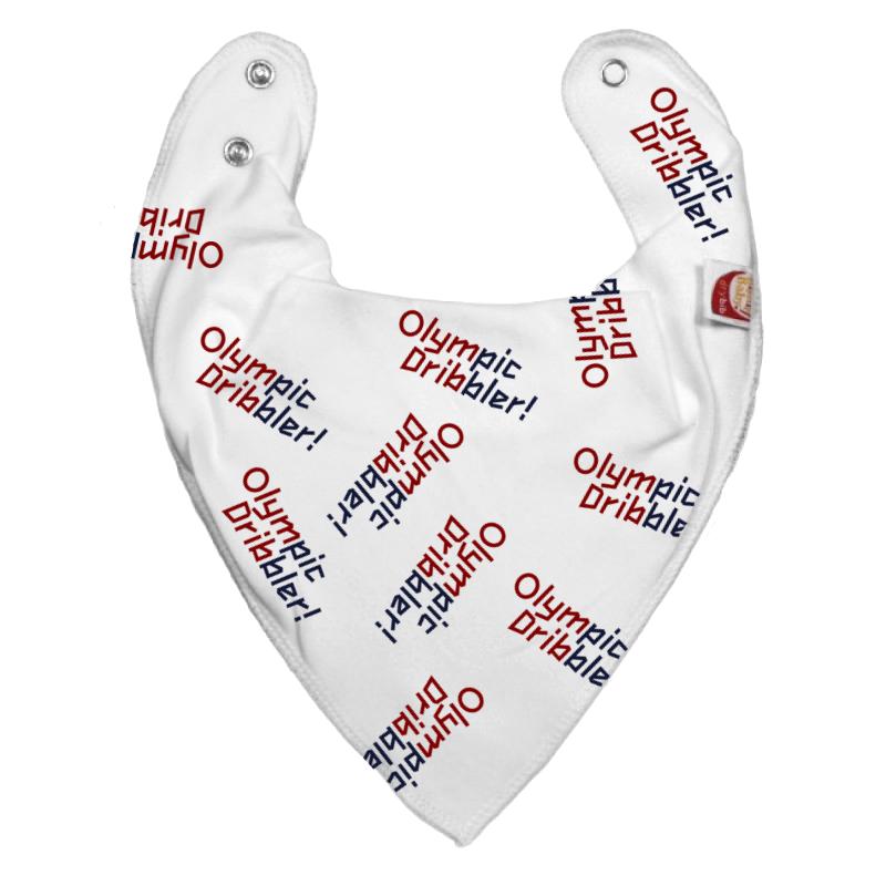 DryBib Bandana Bib - Olympic Dribbler